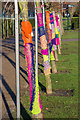TQ2549 : Yarn bombing, Priory Park by Ian Capper
