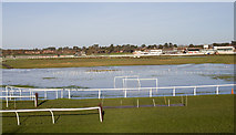 SP1853 : Flooded racecourse by David P Howard