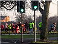 SE3155 : Christmas Day Parkrun, Harrogate by Derek Harper