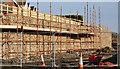 J3784 : New retaining wall, Greenisland by Albert Bridge