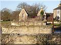 SE6422 : Carlton Toll Bridge remains by Alan Murray-Rust