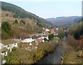 SS7994 : From viaduct to aqueduct in Pontrhydyfen by Jaggery