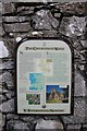 SH7219 : Interpretive Panel at Cymer Abbey by Jeff Buck