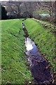SH7219 : Stream in the grounds of Cymer Abbey by Jeff Buck