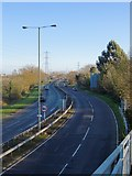 TQ0471 : The A308 Staines by-pass by Stefan Czapski