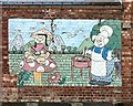 SJ8993 : Mural at the Houldsworth Arms by Gerald England