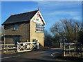 TF1808 : Signal box at Deeping St James by Richard Humphrey
