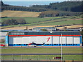 NJ8712 : CHC Hangar, Aberdeen Airport by Bill Harrison