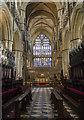 TA0339 : Choir and Chancel, Beverley Minster by Julian P Guffogg