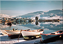 HU4039 : Scalloway in the snow by Greg Fitchett