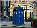 NS5965 : Wilson Street police box by Thomas Nugent