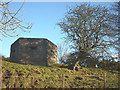 NU2519 : Pillbox on the Craster road by Karl and Ali