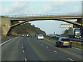 SK4813 : The M1 northbound near Copt Oak by Ian S