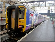 NY4055 : Train standing in Carlisle Citadel Station by Graham Robson