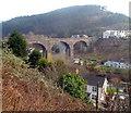 SS7994 : West side of a former aqueduct in Pontrhydyfen by Jaggery