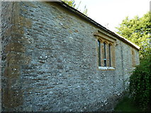 ST5906 : St Edwold, Stockwood: north side by Basher Eyre