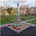 SE5216 : Kirk Smeaton War Memorial by Alan Murray-Rust