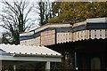 SU6775 : Sign on the canopy by Bill Nicholls