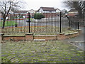 SD8301 : Off St. Mark's Lane, Cheetham Hill by Tricia Neal