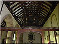 TQ1328 : St Nicholas, Itchingfield: rood screen by Basher Eyre