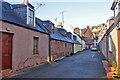 NH7055 : James Street, Avoch by Richard Dorrell