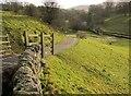 SE0263 : Bridleway, Hebden by Derek Harper