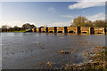 ST9500 : Jan 2014: flooding at White Mill Bridge by Mike Searle