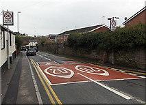 ST3390 : 20 both ways along Usk Road, Caerleon by Jaggery