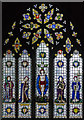 TQ7529 : East Window, St Laurence, Hawkhurst by Julian P Guffogg