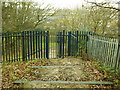 TQ4178 : Gate to Maryon Park by Stephen Craven