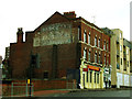 TQ4178 : Ghost sign near Charlton station by Stephen Craven
