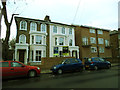 TQ4178 : Renovated houses on Wellington Gardens by Stephen Craven