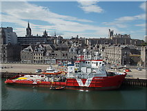 NJ9406 : Aberdeen: city view from the Shetland ferry by Chris Downer