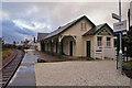 NG7932 : Plockton, Station buildings by Richard Dorrell