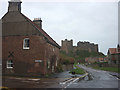 NU1834 : Junction of Front Street and The Wynding, Bamburgh by Karl and Ali