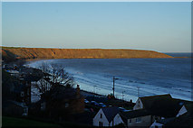 TA1281 : Filey Brigg from near The Crescent, Filey by Ian S