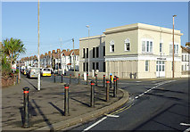 TQ1602 : Ham Road in East Worthing, West Sussex by Roger  Kidd