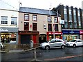 H4572 : Shops and pub, Market Street, Omagh by Kenneth  Allen