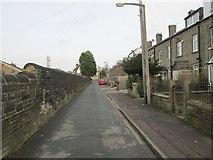 SE0724 : Kingston Street - looking towards Hopwood Lane by Betty Longbottom