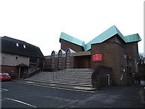 TQ7369 : The Catholic Church of the English Martyrs, Strood by Chris Whippet