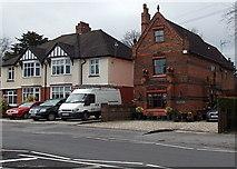 SU1584 : Distinctive house near Queen's Park, Swindon by Jaggery