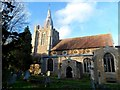 TL3256 : St Mary and St Helena, Bourn by Bikeboy