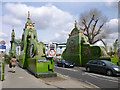 TQ2277 : South end of Hammersmith Bridge by Robin Webster