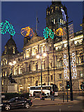 NS5965 : George Square Christmas lights by Thomas Nugent