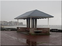 SD4464 : Shelter on Morecambe seafront by Graham Robson