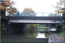 TQ2182 : Old Oak Lane Bridge by N Chadwick