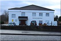 NS6113 : Evangelical Church, New Cumnock by Billy McCrorie