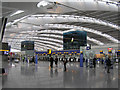 TQ0575 : Heathrow Terminal 5 Departures by Richard Cooke