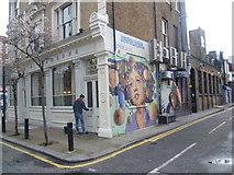 TQ3382 : Street art in Shoreditch by Marathon