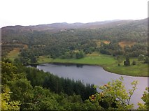 NN8759 : View of Loch Tummel from the Queen's View (opposite way) by Darrin Antrobus